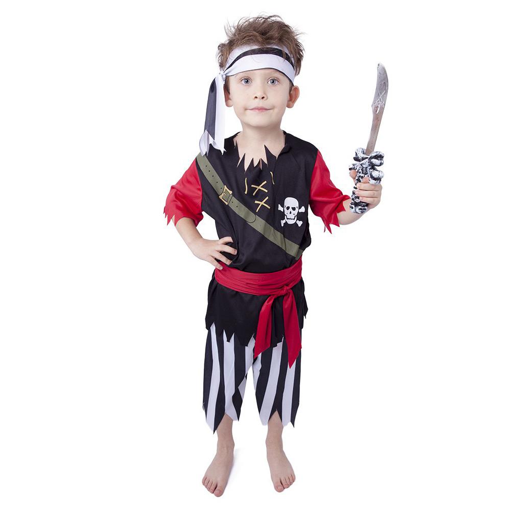 Dětský kostým pirát se šátkem (S)