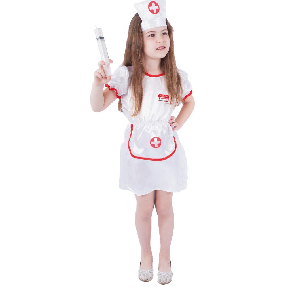 Dětský kostým sestřička (S)