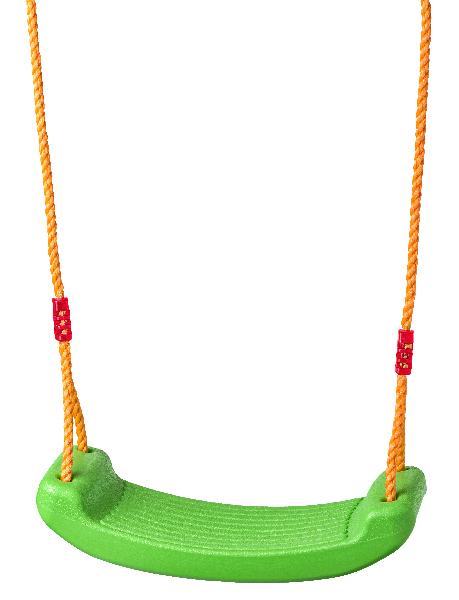 Houpačka plastová- zelený sedák