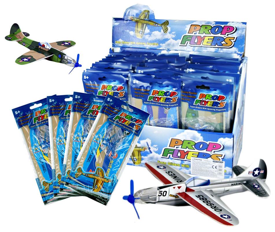 Letadlo házecí polystyrénové 2 ks