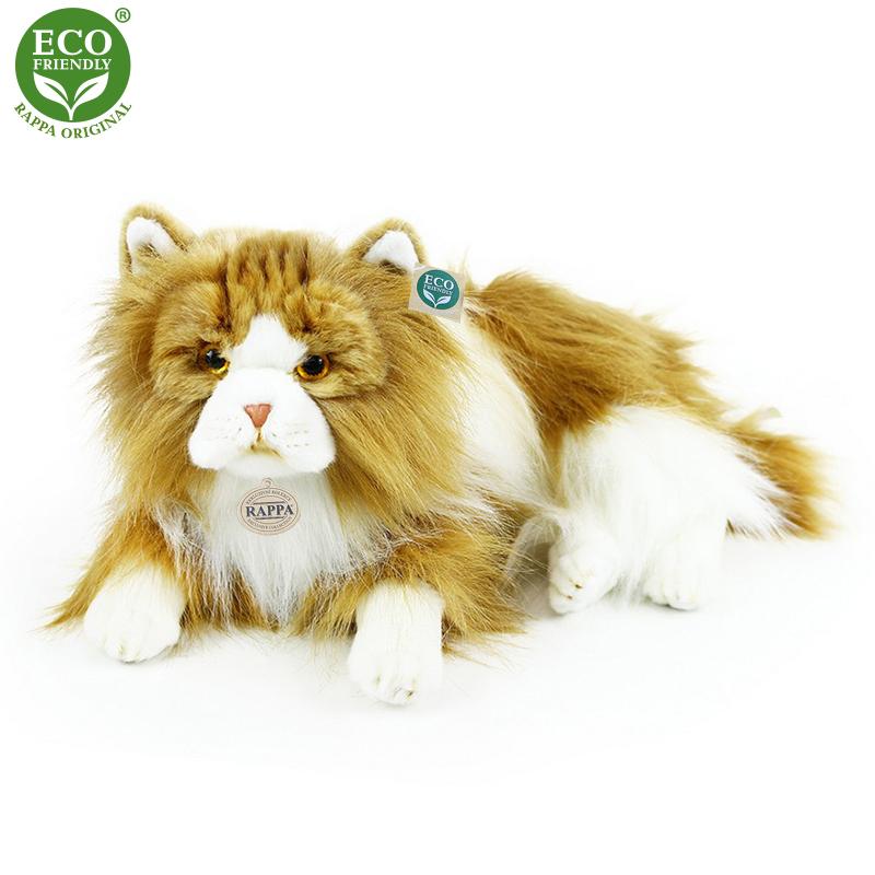 Plyšová kočka perská dvojbarevná 25 cm ECO-FRIENDL