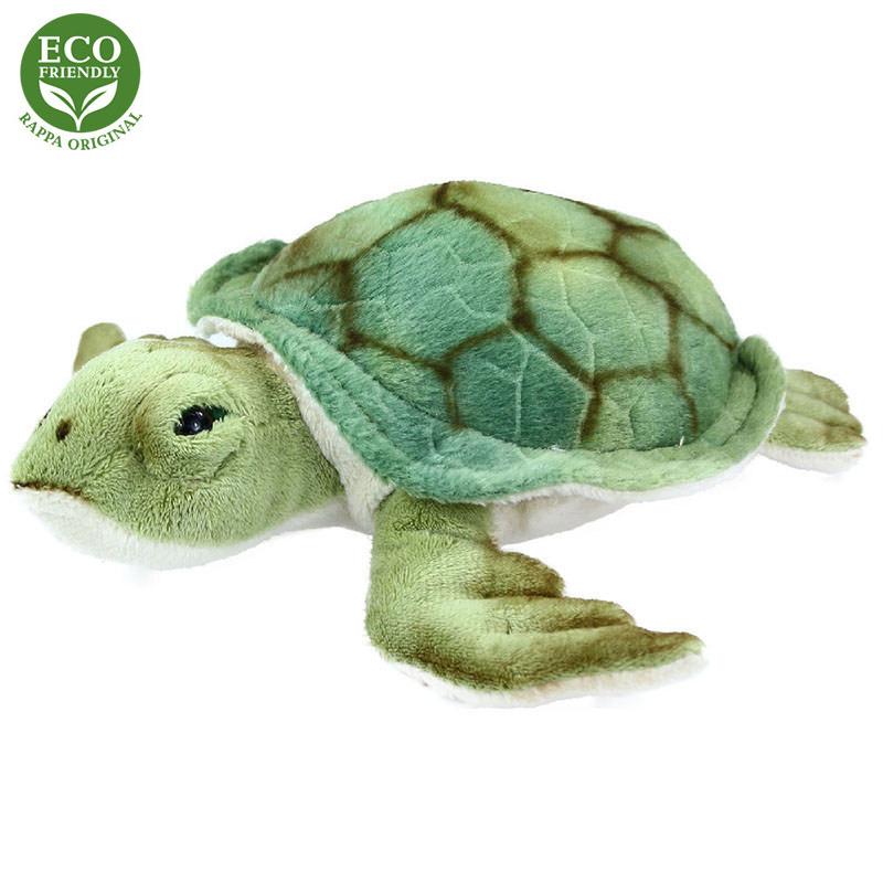 Plyšová vodní želva  20 cm ECO-FRIENDLY
