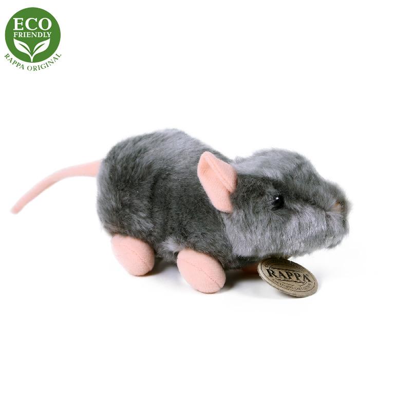 Plyšová myš 16 cm ECO-FRIENDLY
