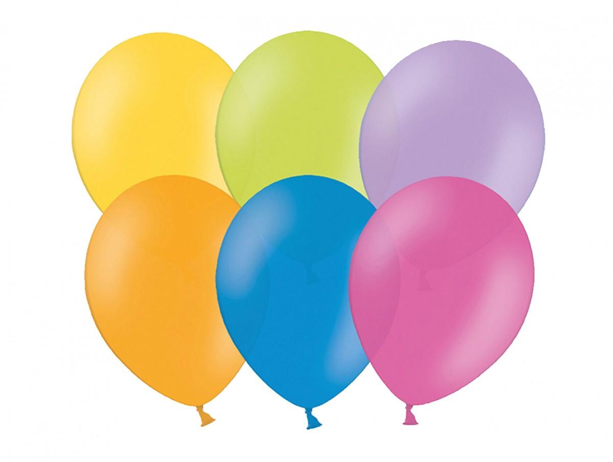 Balónek Nafukovacíukovací 25 cm 10 ks