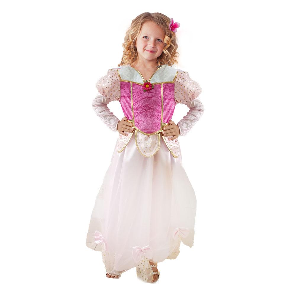 Dětský kostým princezna květinka (S)